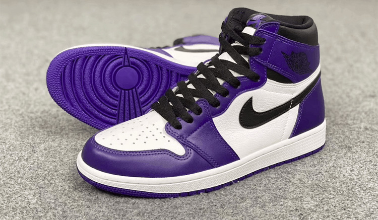 Nike Jordan 1 Retro High OG Court Purple 555088-500