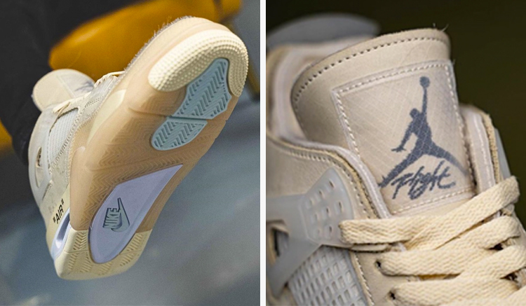 Fecha Lanzamiento Off-White x Air Jordan 4 Sail
