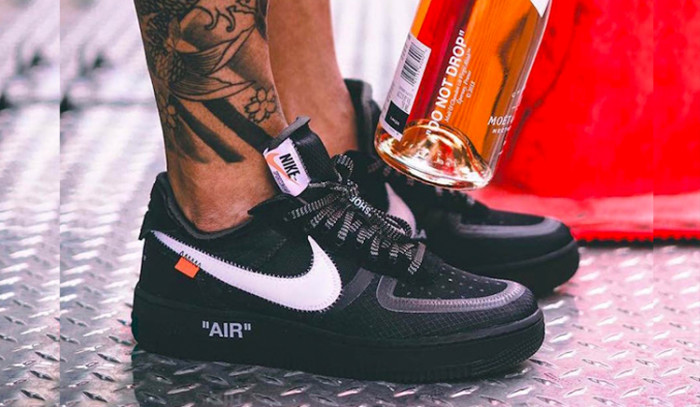 Dónde comprar las Off-White x Nike Air Force 1 Negras