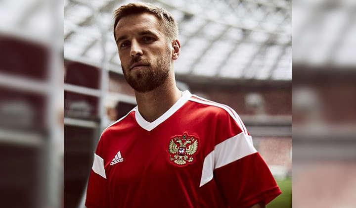 las camisetas de las selecciones rusia
