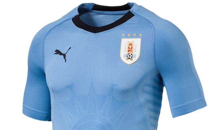 las camisetas de las selecciones uruguay