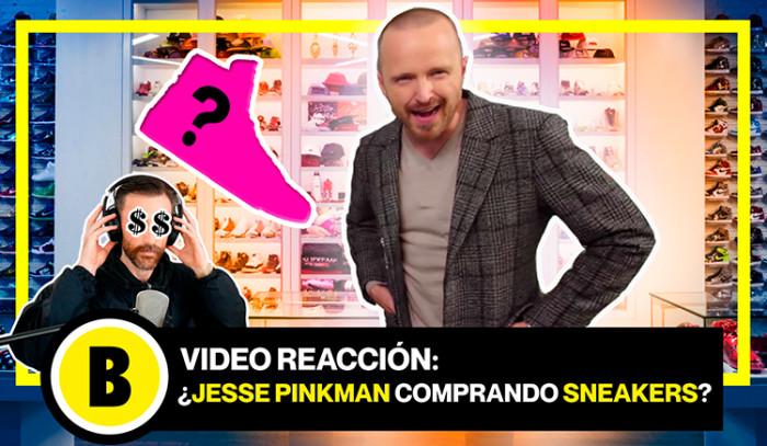 BackseriesTV: Las zapatillas de Jesse Pinkman!