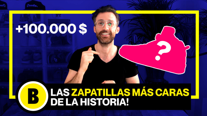 Backseries Youtube: Las zapatillas más caras de la historia!