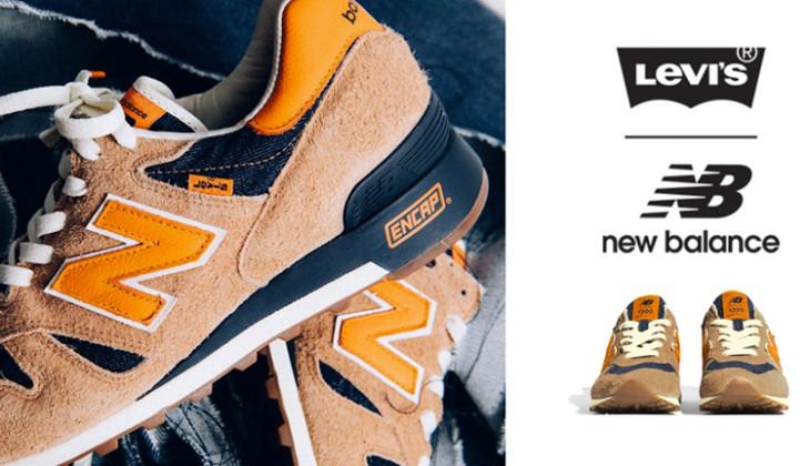 Levis x New Balance 1300 Orange Tab