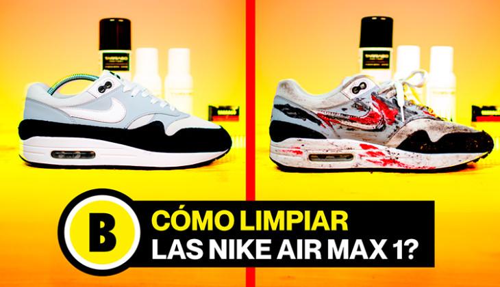 BackseriesTV: Aprende a limpiar las Nike Air Max 1!
