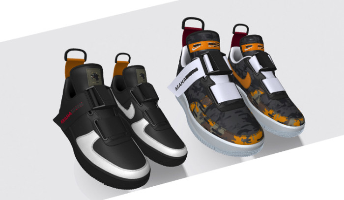 Lo nuevo de Maharishi x Nike ID es una bomba de relojería...