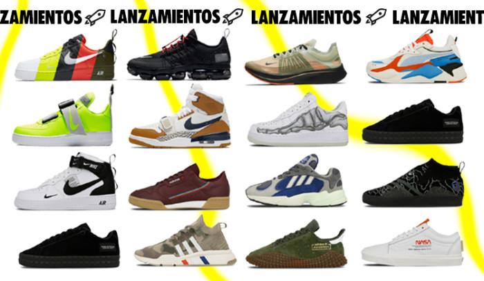 Los 16 mejores lanzamientos de sneakers de la semana !!