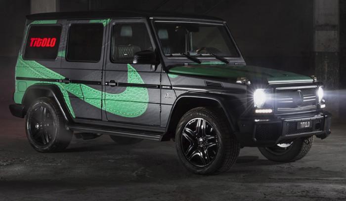 Mercedes G-Wagon De Titolo inspirada en las Jordan 1 Pine Green