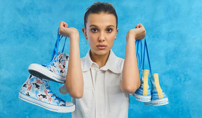 La estrella de Stranger Things y Converse se alían para la colección Converse x Millie By You