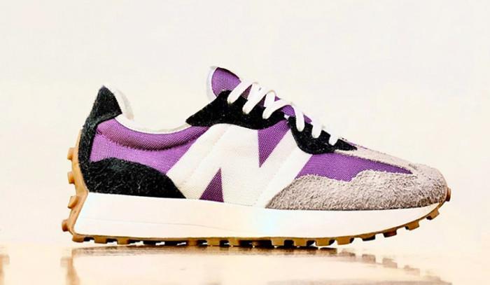 Las New Balance 327 Purple Black bien podrían ser una colabo