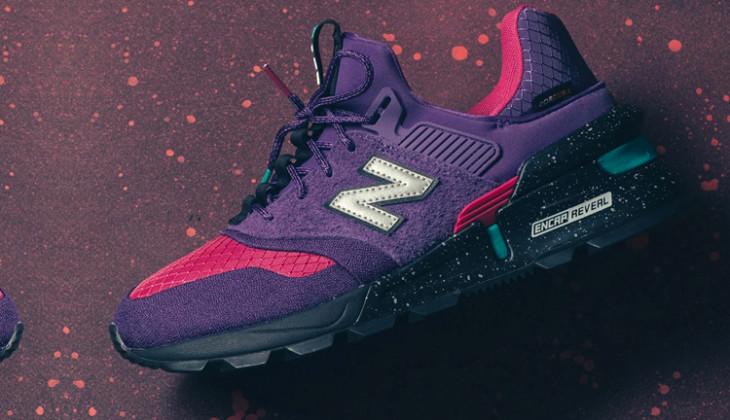Unas trail con mucho aire urbano! New Balance 997S Purple Cordura.