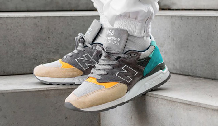 Las New Balance 998 Made In USA en un colorway perfecto