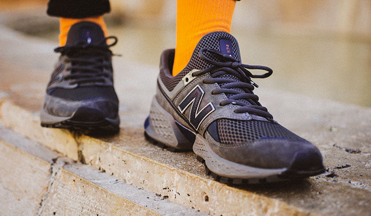 newest 5f7c7 deefb Review y fotos On-Feet de las New Balance 574 Sport - Backseries