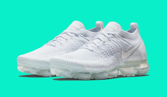 buy popular d5cdf 5d49f Nuevas Nike Air VaporMax 2.0 Triple White