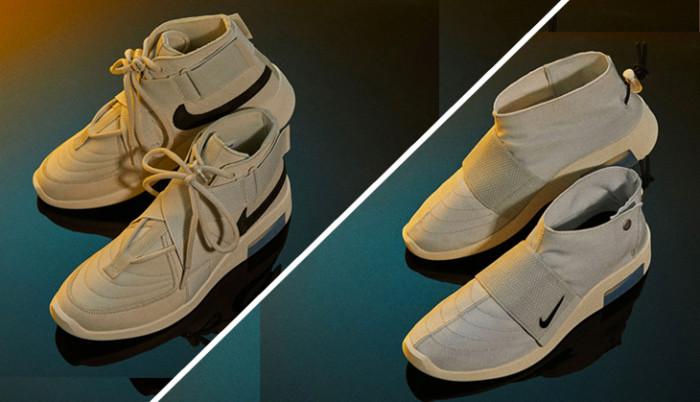 Son mejores las Nike Air Fear Of God Raid Light Bone o las Moc Pure Platinum?