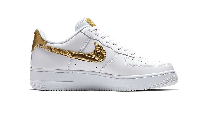half off 84793 43235 Nike Air Force 1 CR7 Golden Patchwork