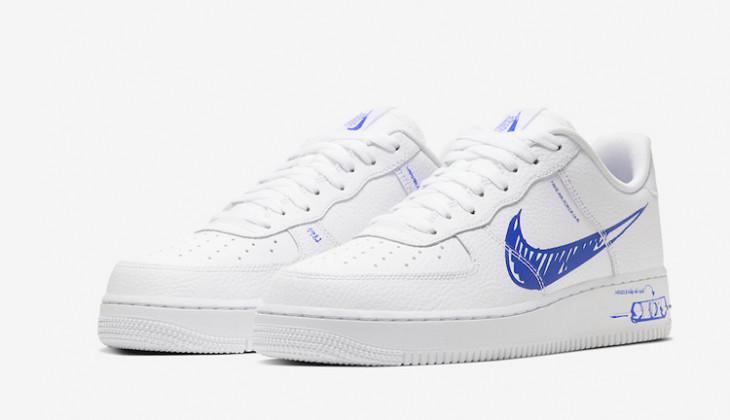Nike Air Force 1 Low Sketch