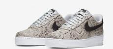 Nuevas Nike Air Force 1 Snakeskin