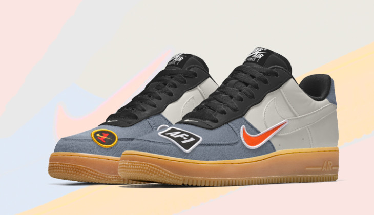 lowest price 692f5 3a746 Personaliza las Nike Air Force 1 By You, mira las nuestras! - Backseries