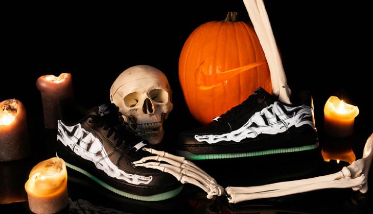 ¿Dónde comprar las Nike Air Force 1 Skeleton negras?