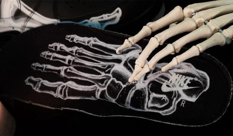 nike air force 1 skeleton bq7541-001
