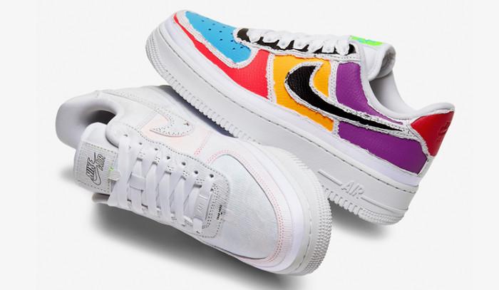 Ojito con estas Nike Air Force 1 Tear Away