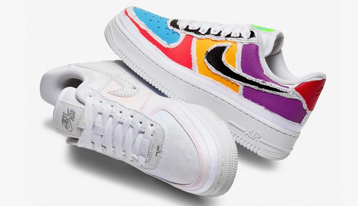 Embotellamiento Fangoso frutas  Ojito con estas Nike Air Force 1 Tear Away - Backseries