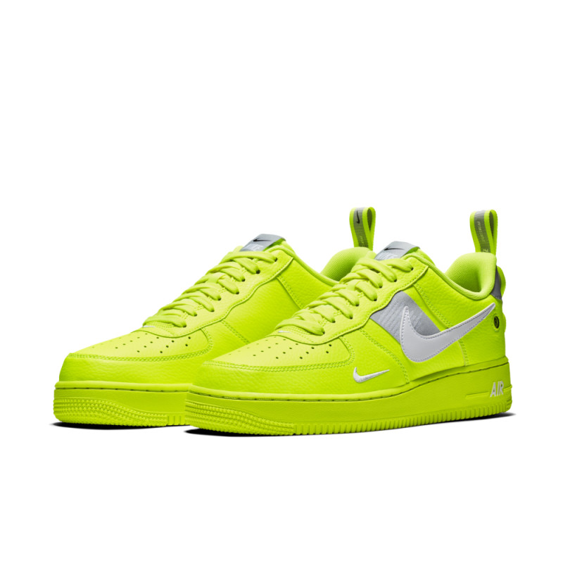 nike air force 1 verde fluorescente