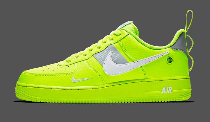 Nuevo cañonazo, Nike Air Force 1 Utility Volt.