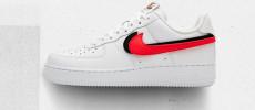 Nuevos Colores para las Nike Air Force 1 con swoosh intercambiables