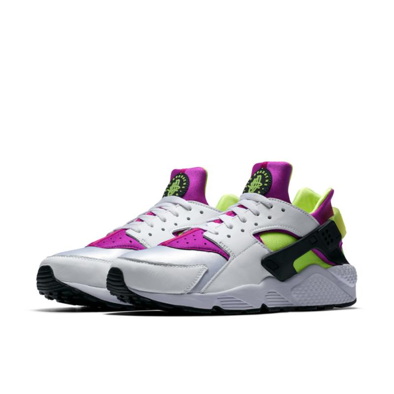 Nike Air Huarache Run 91 QS Magenta Volt