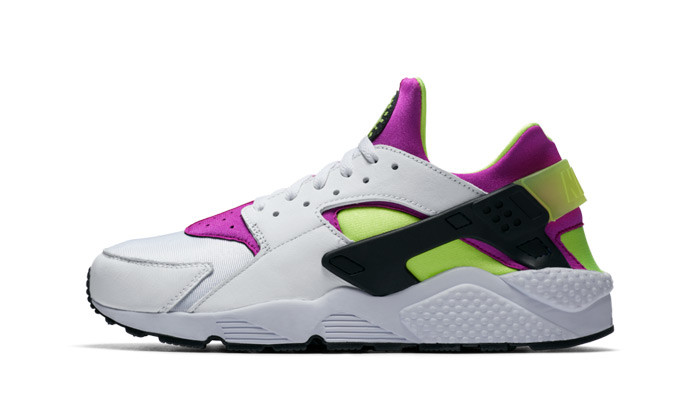 Nike Air Huarache Run 91 QS Magenta Volt
