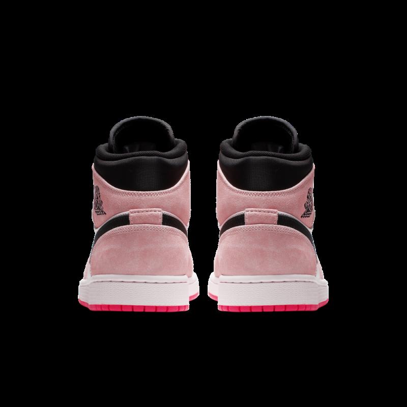 Air Jordan 1 Mid SE Crimson Hyper Pink