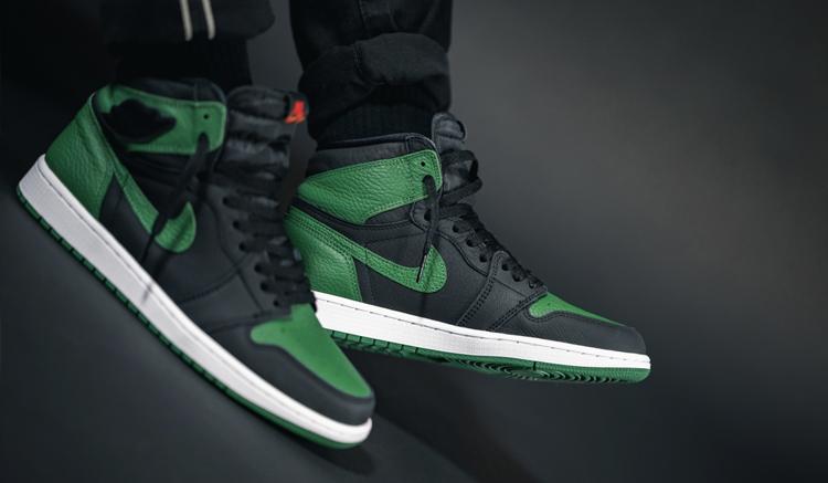 Jordan 1 High Pine Green 555088-030
