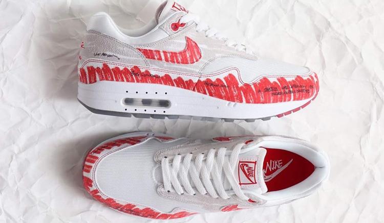 El lanzamiento de las Nike Air Max 1 Sketch to Shelf está