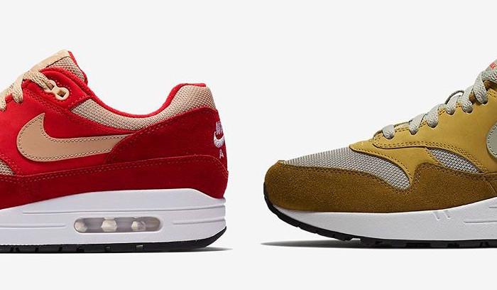 Atmos x Nike Air Max 1 Curry Pack