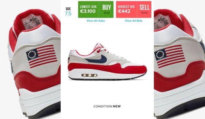 Canceladas las Nike Air Max 1 4 de Julio y su precio se dispara en reventa...