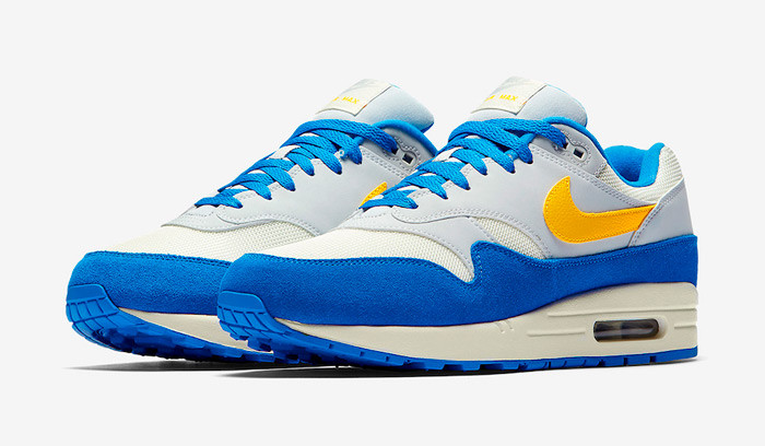 Nike Air Max 1 Signal Blue Yellow