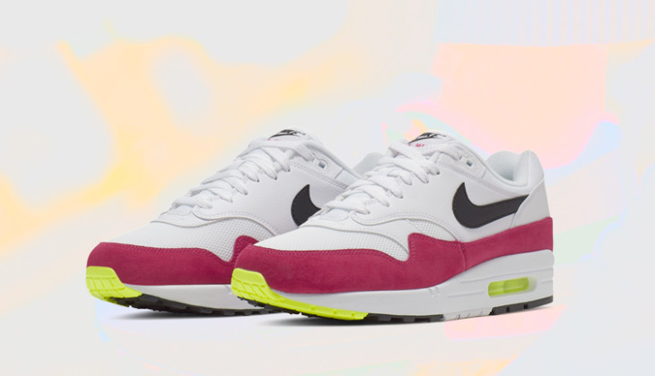 El Neón viste estas Nike Air Max 1 Volt Rush Pink!