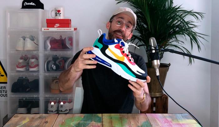Backseries Youtube: Review Nike Air Max 270 React Bauhaus