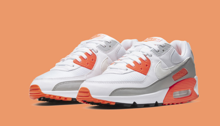 Nuevas Nike Air Max 90 Hyper Orange!