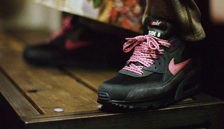 nike air max 90 mixtape side b
