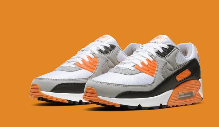 Nike Air Max 90 Total Orange, un nuevo colorway para el aniversario de las AM90