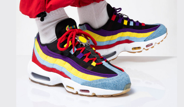 Las Nike Air Max 95 SP Multicolor son todo lo que necesitas para este Septiembre