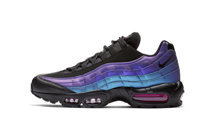 Nike Air Max 95 Black Laser Fuchsia