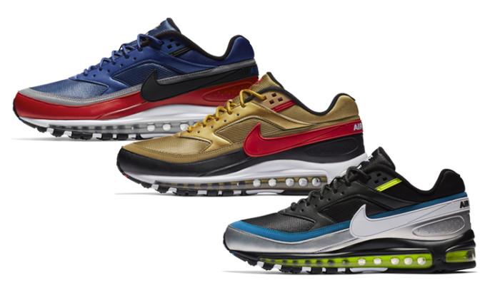 Bombazo: las Nike Air Max 97 BW vuelven en tres colorways!