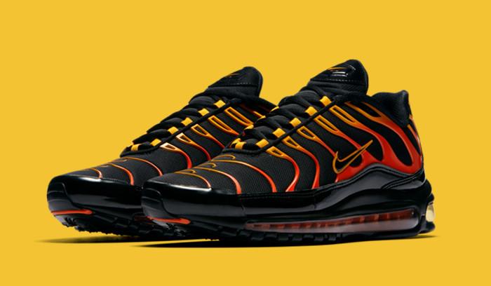 Nuevas Nike Air Max 97 Plus Shock Orange