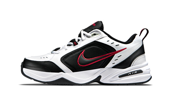 nike-air-monarch-Iv-white-black-red