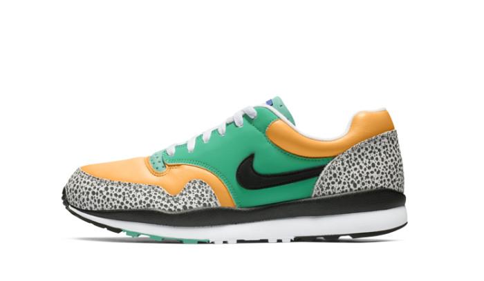 Animal print y los noventas fusionados en las nuevas Nike Air Safari SE