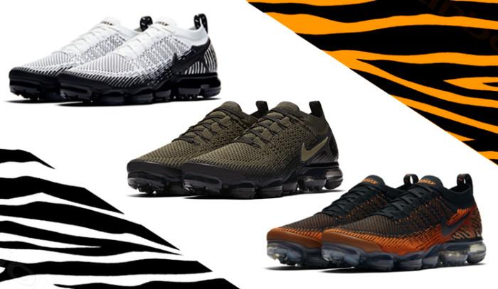 Nueva colección Nike Air VaporMax Flyknit 2 Safari Pack